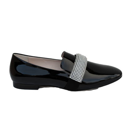 Christopher Kane Loafers with Crystal decoration