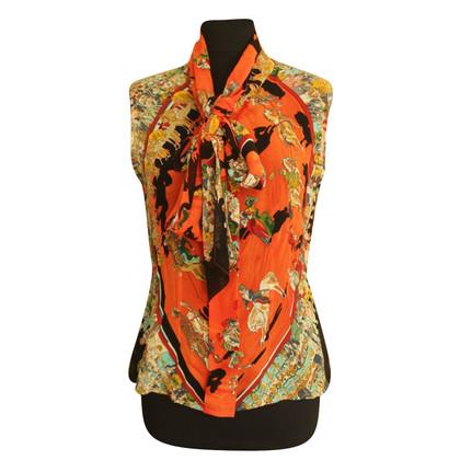 Hermès Vintage Hermes zijden blouse