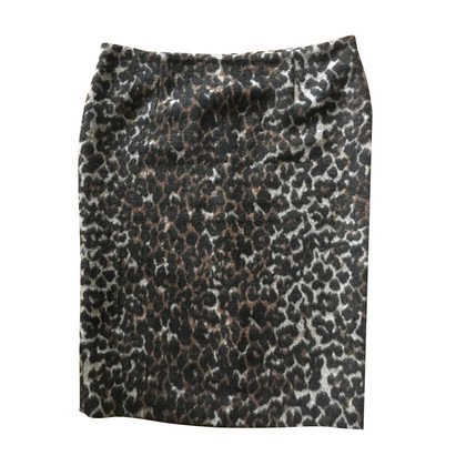 By Malene Birger skirt with leopard pattern