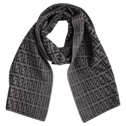 Fendi sciarpa di lana