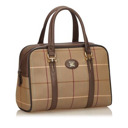 Burberry Plaid Cotton Handbag