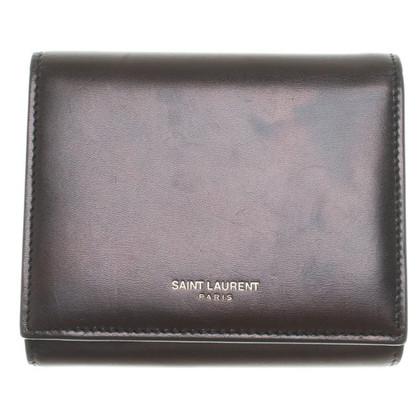 Saint Laurent Portemonnaie in schwarz