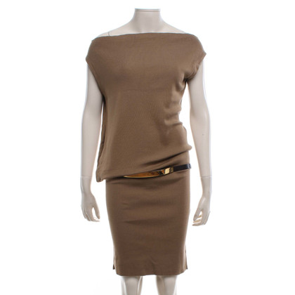 Gucci Knitted dress in beige