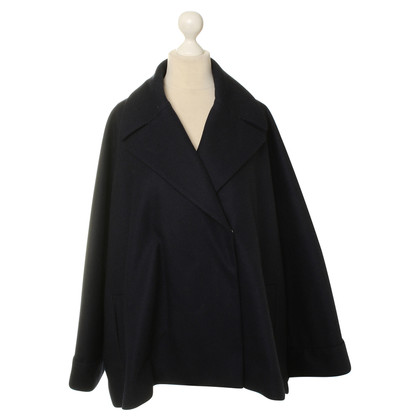 The Row Coat in blue