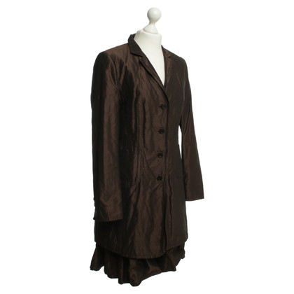 St. Emile Costume in Brown metallic