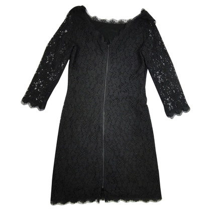 Diane von Furstenberg Black lace dress
