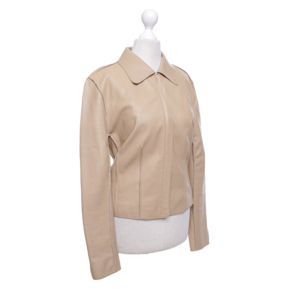 Strenesse Leather jacket in beige
