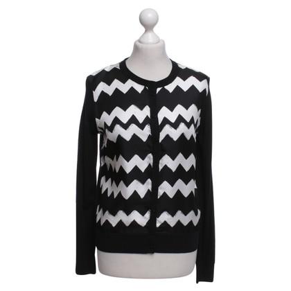 Paule Ka Jacket with zigzag pattern