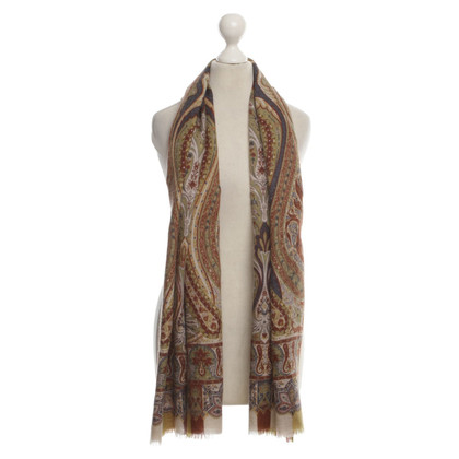 Etro Scarf with a Paisley pattern