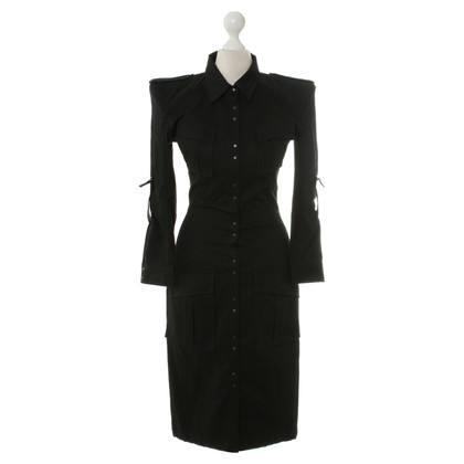 Balmain Shirt dress in black