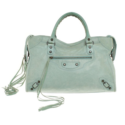 Balenciaga Borsetta in Mint