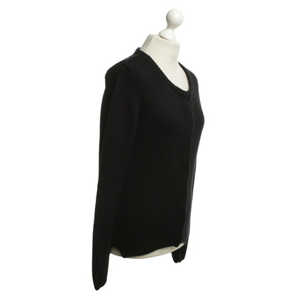 Dear Cashmere Strickjacke in Schwarz