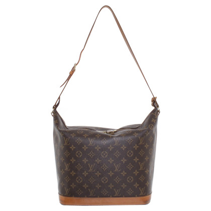 Louis Vuitton Schultertasche aus Monogram Canvas