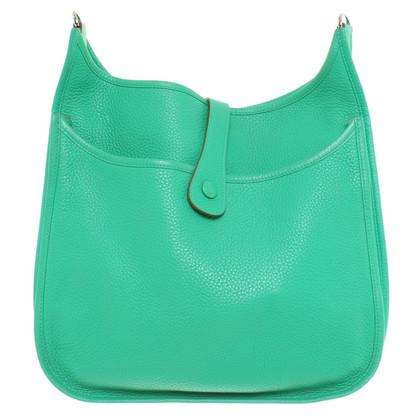 """Hermès """"Evelyne III"""" in green"""