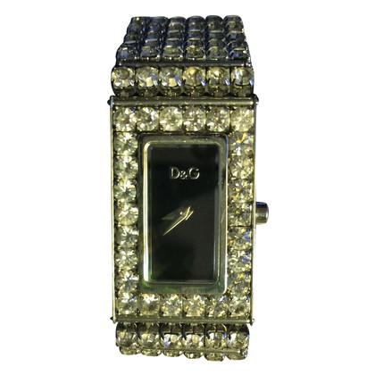 Dolce & Gabbana Regarder avec des pierres précieuses