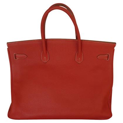 "Hermès ""Birkin Bag 40"" van Clemence Leather"