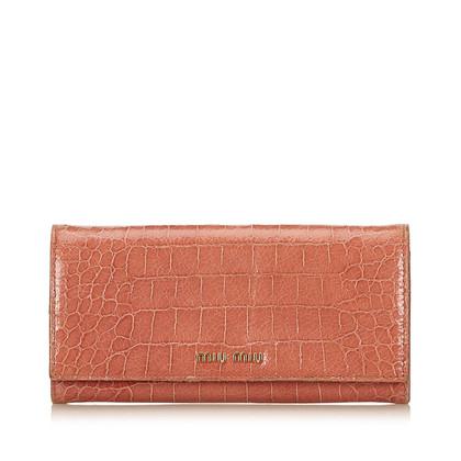 Miu Miu Patent Leather Wallet