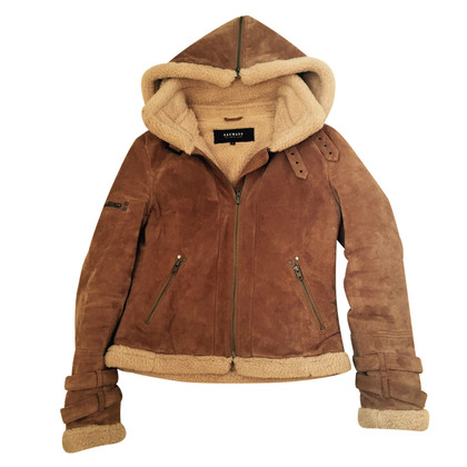 Oakwood Coat varkensleer