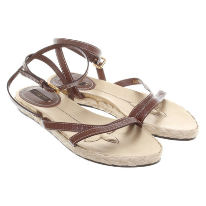 Louis Vuitton Sandalen in Braun