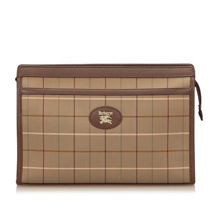 Burberry Plaid Jacquard clutch Tasche