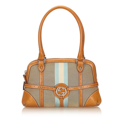 Gucci Double G Jacquard Handtasche
