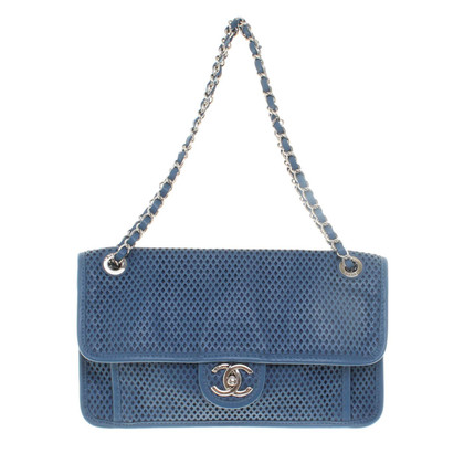 Chanel Flap Bag with diamond perforation