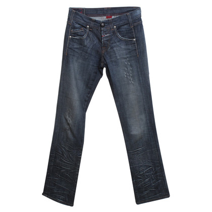 Marithé et Francois Girbaud Jeans in Blauw