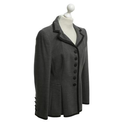 Rena Lange Blazer en gris / noir