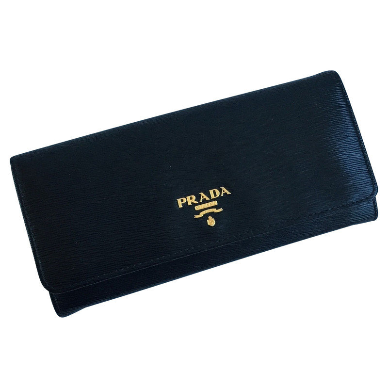 Leather Wallet | Prada