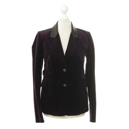 Closed Purple velvet Blazer