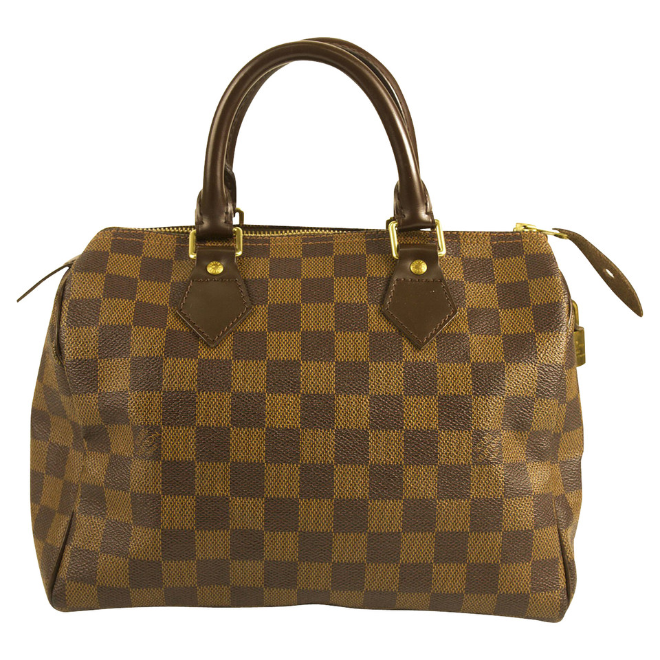 Louis vuitton speedy 25 damier ebene canvas compra for Amazon borse louis vuitton