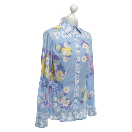 Etro Shirt blouse with a floral pattern