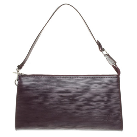 Rabatt 100% Authentische Louis Vuitton Pochette aus Epileder Violett Billig Verkauf Finish Erkunden Günstigen Preis lBJAp