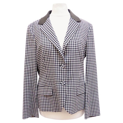Prada Blazer with leather collar