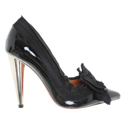 Lanvin for H&M pumps patent leather