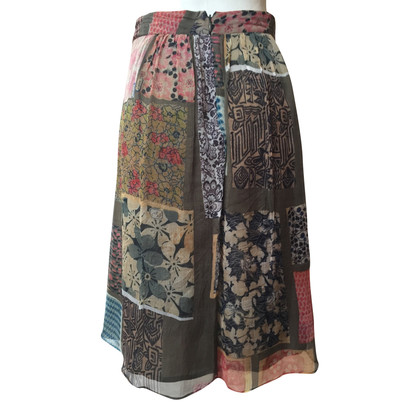Etro Light silk skirt