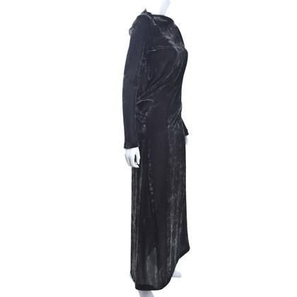 Jil Sander fluwelen jurk