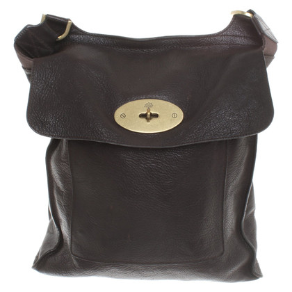 "Mulberry ""New Antony"" in dark brown"