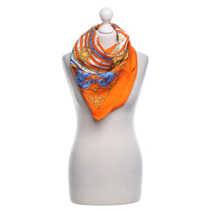 Hermès Silk scarf with print
