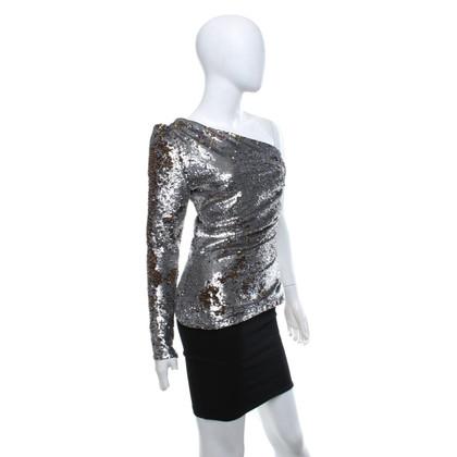 Maje Shirt with sequin trim