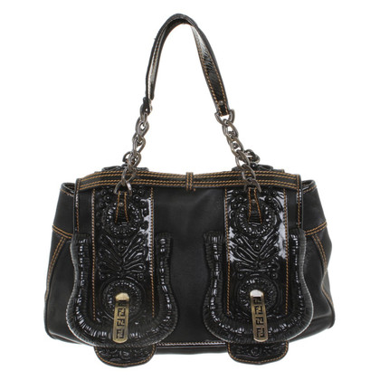 Fendi Handbag with ornaments