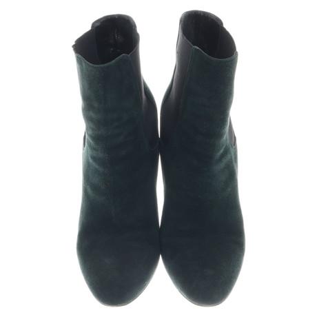 Dolce & Gabbana Stiefeletten in Grün Grün Manchester Großen Verkauf Verkauf Online Die Günstigste Zum Verkauf Besonders US6oWL