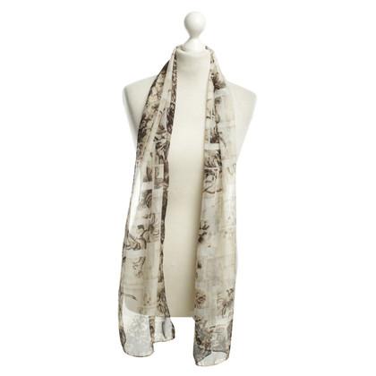 John Galliano sciarpa di seta