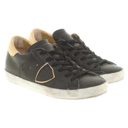 Philippe Model Sneakers in black / gold
