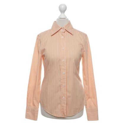 René Lezard Shirt blouse with pattern