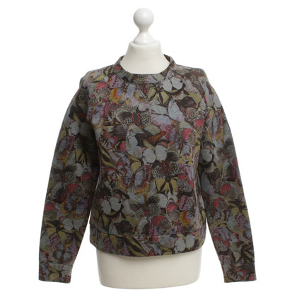 Valentino Sweater with floral pattern