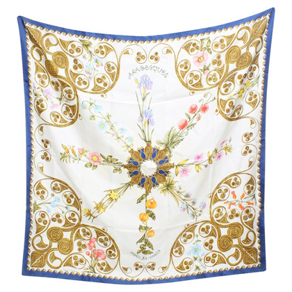 Hermès Tuch mit floralem Print