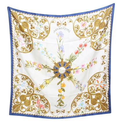 Hermès Cloth with floral print