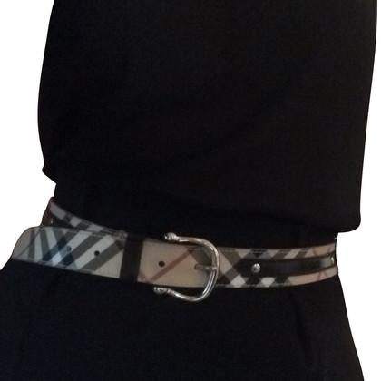 Burberry Cintura con motivo check nova