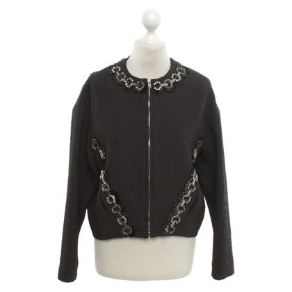 MSGM Jacket with gemstones